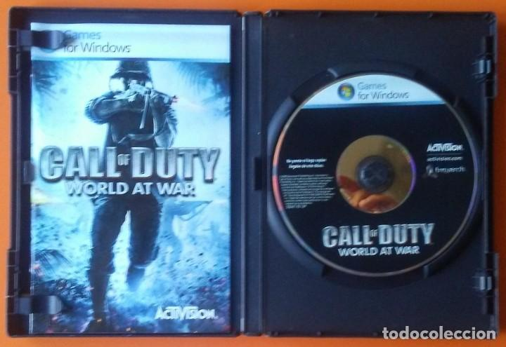 Videojuegos y Consolas: CALL OF DUTY WORLD AND WAR PC-DVD 2008 - Foto 3 - 194753978