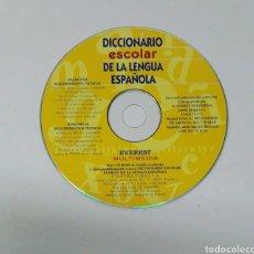 Videojuegos y Consolas: DICCIONARIO ESCOLAR DE LA LENGUA ESPAÑOLA CD. Lote 194765546