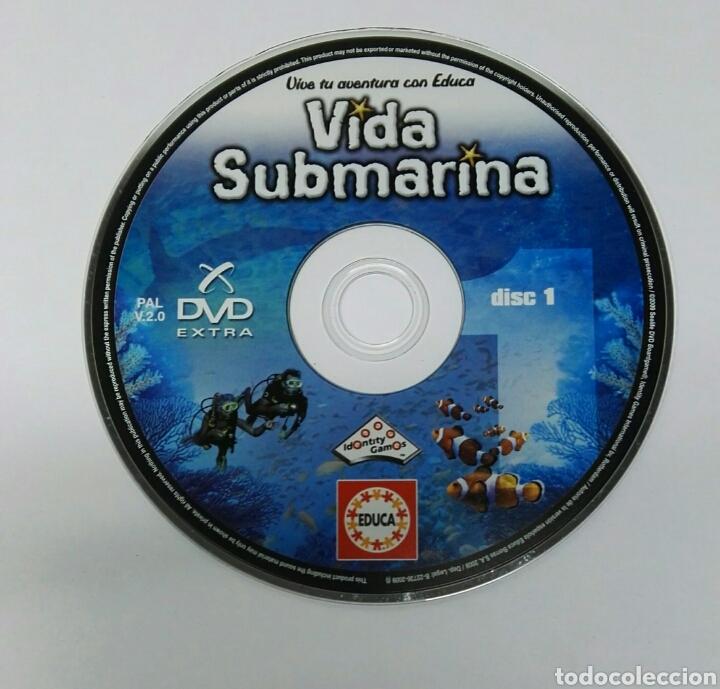 VIVE TU AVENTURA CON EDUCA VIDA SUBMARINA CD (Juguetes - Videojuegos y Consolas - PC)