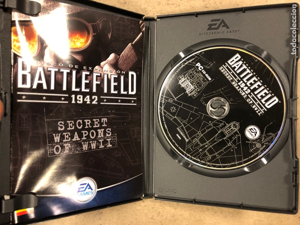 "Videojuegos y Consolas: - PC CD-ROM - BATTLEFIELD 1942 ""SECRET WEAPONS OF WWII"". - Foto 2 - 194897967"