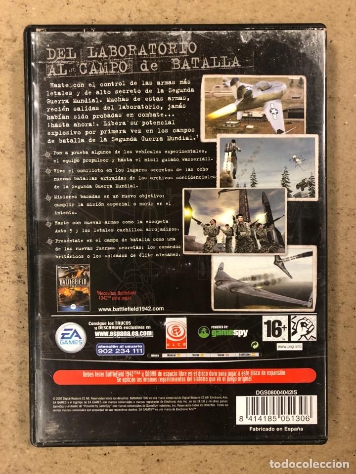 "Videojuegos y Consolas: - PC CD-ROM - BATTLEFIELD 1942 ""SECRET WEAPONS OF WWII"". - Foto 3 - 194897967"