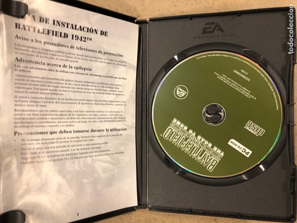 "Videojuegos y Consolas: - PC CD-ROM - BATTLEFIELD 1942 ""THE ROAD TO ROME"". - Foto 2 - 194898072"