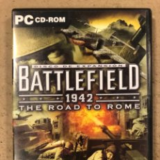 "Videojuegos y Consolas: - PC CD-ROM - BATTLEFIELD 1942 ""THE ROAD TO ROME"".. Lote 194898072"