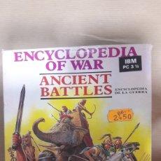 Videojuegos y Consolas: ANCIENT BATTLES ENCICLOPEDIA DE LA GUERRA DISEÑO EJÉRCITOS. Lote 194933748