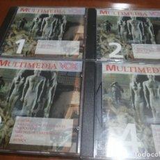 Videojuegos y Consolas: MULTIMEDIA VOX. 4 CD-ROM. DIFERENTES DISCIPLINAS. BUEN ESTADO. . Lote 194972692
