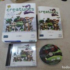 Videojuegos y Consolas: CREATURES 2 PC BOX CAJA CARTÓN. Lote 195013655