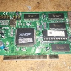 Videojuegos y Consolas: S3 VIRGE/DX ON BOARD Q5A4BB PCI TARJETA GRÁFICA VINTANGE. Lote 195057743