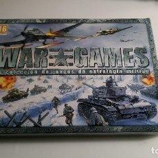 Videojuegos y Consolas: WAR GAMES LA COLECCIÓN DE JUEGOS DE ESTRATEGIA MILITAR. Lote 195128862