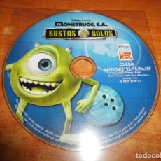 Videojuegos y Consolas: MONSTRUOS S.A. JUEGO PC CD-ROM DISNEY DEL AÑO 2002 WINDOWS 95/98/ME/XP. Lote 195232677