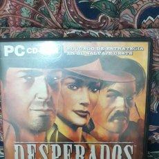 Videojuegos y Consolas: DESPERADOS PARA PC PAL ESP. Lote 195272271