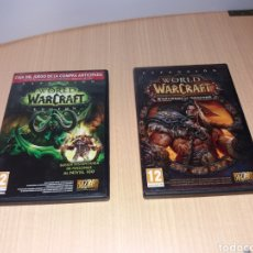 Videojuegos y Consolas: WORLD WARCRAFT WARLORDS OF DRAENOR Y WARCRAFT LEGION. Lote 195315377