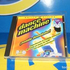 Videojuegos y Consolas: VIDEOJUEGO -PC CD ROM - DANCE MACHINE DE ANAYA INTERACTIVA BUEN ESTADO. Lote 195346101