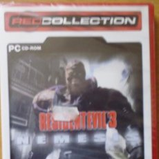 Videojuegos y Consolas: JUEGOS PARA PC DVD RESIDENTEVIL 3 CERRADO CON SU PRECINTADO SIN ABRIR. Lote 195421688