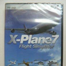 Videojuegos y Consolas: X PLANE FLIGHT SIMULATOR PRECINTADO. PC DVD. Lote 195460070