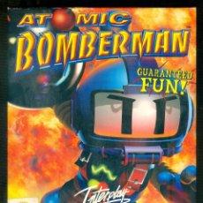 Videojuegos y Consolas: NUMULITE FIGURA 0015 ATOMIC BOMBERMAN GUARANTEED FUN PC ZONE INTERPLAY ACTINO ARCADE. Lote 195512913