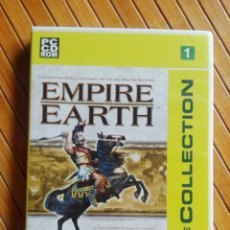 Videojuegos y Consolas: JUEGO PC CD-ROM EMPIRE EARTH THE COLLECTION. Lote 195543900