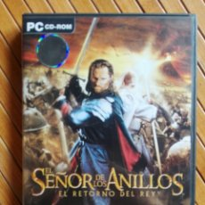 Videojuegos y Consolas: JUEGO PC CD-ROM EL SEÑOR DE LOS ANILLOS - EL RETORNO DEL REY. Lote 195545611