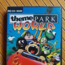 Videojuegos y Consolas: JUEGO PC CD-ROM THEME PARK WORLD. Lote 195545856