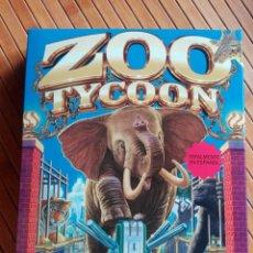 Videojuegos y Consolas: JUEGO PC CD-ROM ZOO TYCOON. Lote 195553901