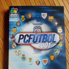 Videojuegos y Consolas: JUEGO PC CD-ROM PC FÚTBOL 2001. Lote 195554538