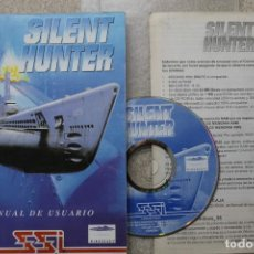 Videojogos e Consolas: PC SILENT HUNTER MANUAL Y CD EN ESPAÑOL . Lote 195612538