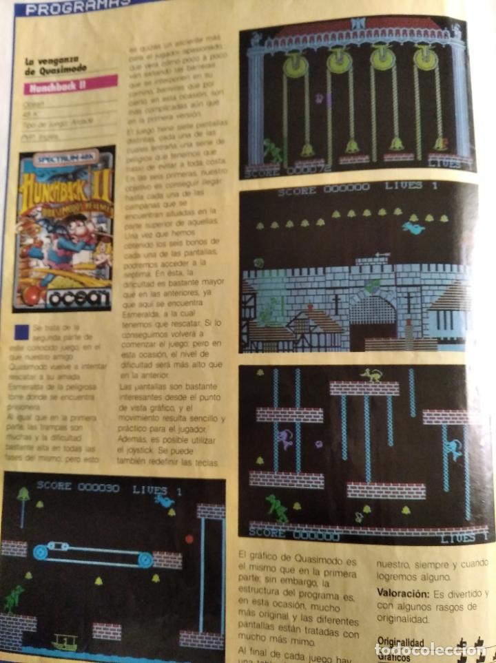 Videojuegos y Consolas: MICROHOBBY Nº 18 DE 1985- SPECTRUM, AMSTRAD, ATARI, COMMODORE, KAMICACES 2000, ZAXXON... - Foto 3 - 195746743