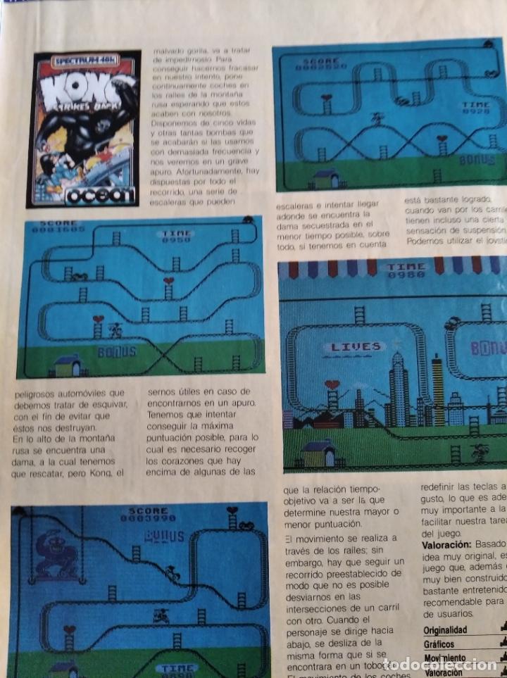 Videojuegos y Consolas: MICROHOBBY Nº 18 DE 1985- SPECTRUM, AMSTRAD, ATARI, COMMODORE, KAMICACES 2000, ZAXXON... - Foto 5 - 195746743