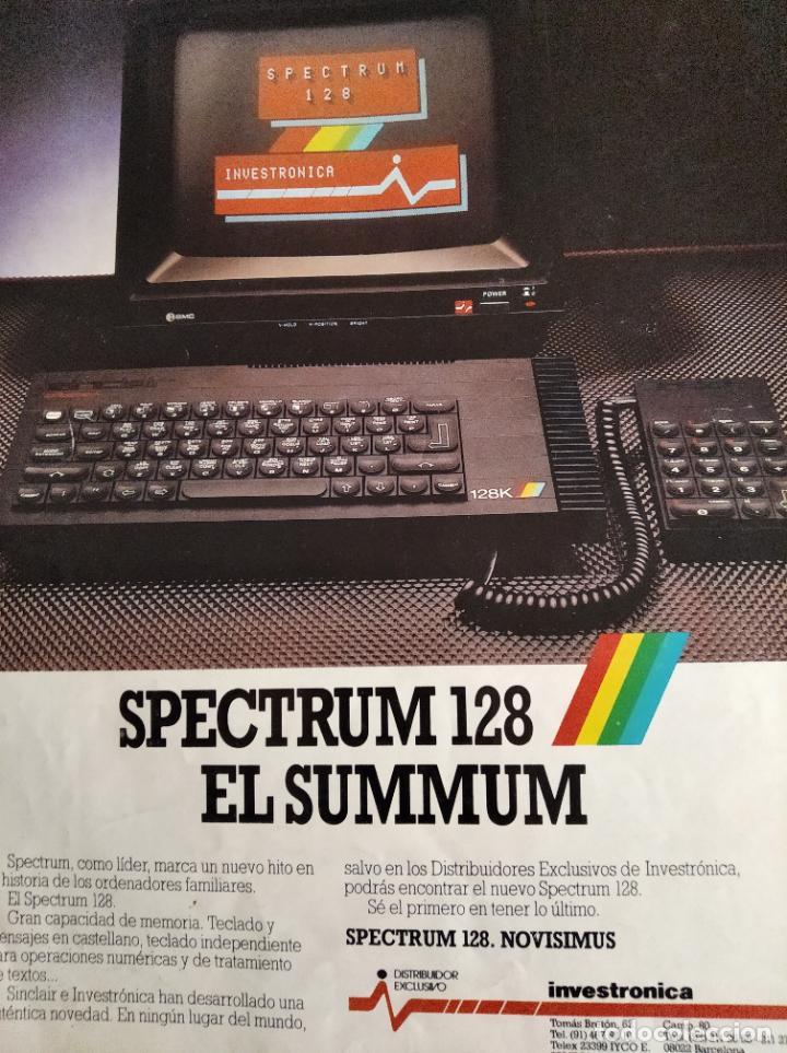 Videojuegos y Consolas: MICROHOBBY Nº 54 DE 1985- SPECTRUM, AMSTRAD, ATARI, COMMODORE, PINKY, VORTEX, POPEYE... - Foto 3 - 195747816