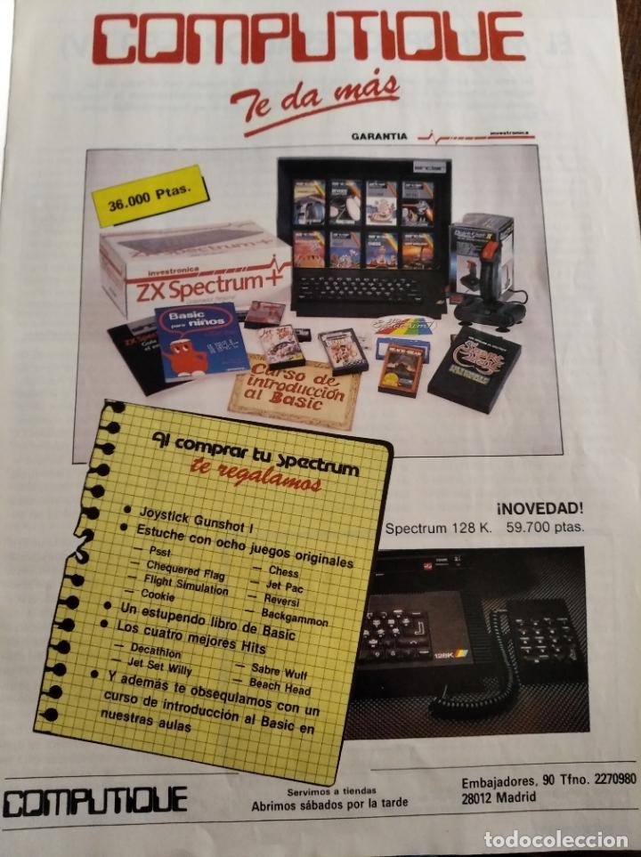 Videojuegos y Consolas: MICROHOBBY Nº 54 DE 1985- SPECTRUM, AMSTRAD, ATARI, COMMODORE, PINKY, VORTEX, POPEYE... - Foto 5 - 195747816
