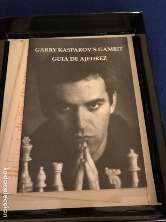 Videojuegos y Consolas: GARY KASPAROVS GAMBIT-JUEGO-IBM PC 3´5 - SOFTWARE TRADUCIDO CASTELLANO CAJA 26X 20 CENTIMETROS 1993 - Foto 3 - 195957582