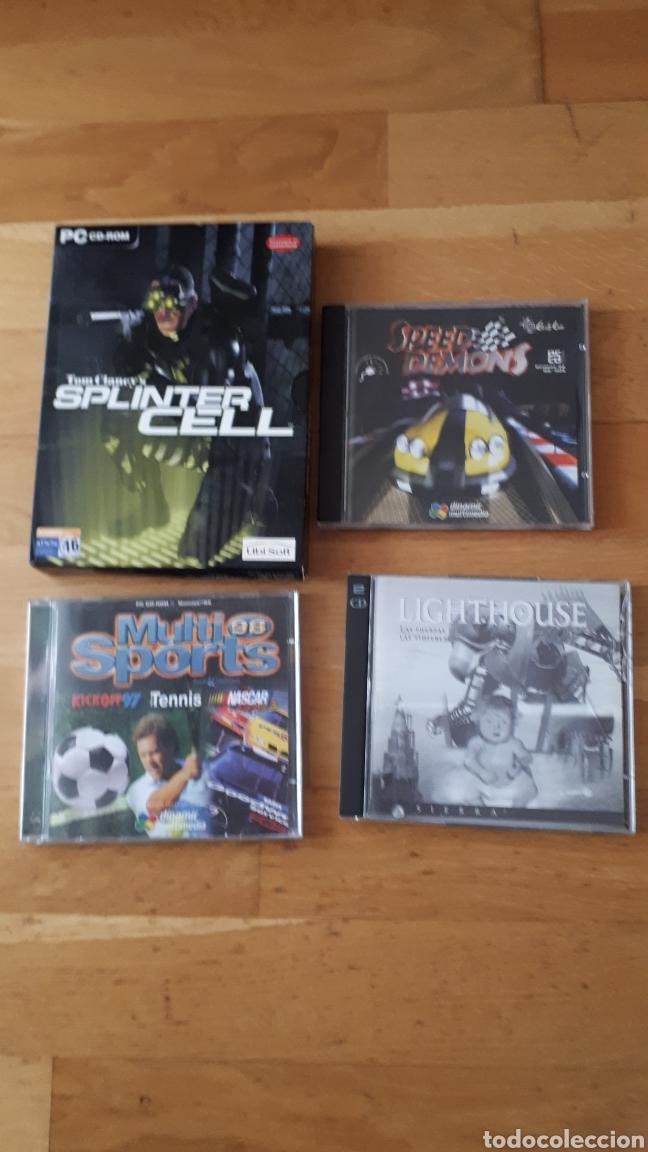 4 JUEGOS PARA PC (Juguetes - Videojuegos y Consolas - PC)