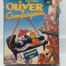 Videojuegos y Consolas: JUEGOS AMSTRAD PC OLIVER COMPANY. Lote 196125018