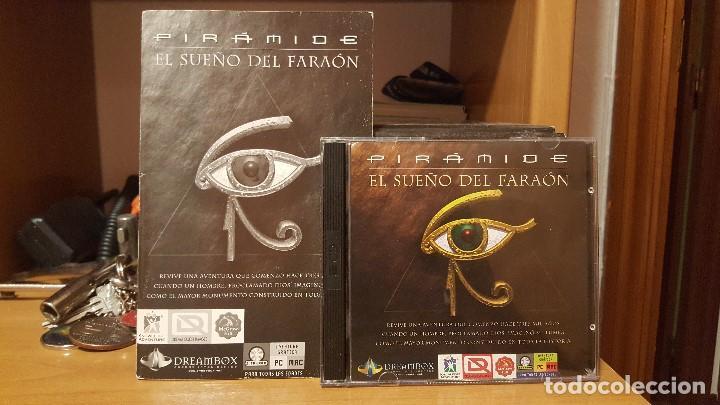 PIRÁMIDE EL SUEÑO DEL FARAÓN DE ANAYA INTERACTIVA 1996 WINDOWS Y MAC (Juguetes - Videojuegos y Consolas - PC)