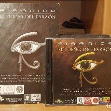 Videojuegos y Consolas: PIRÁMIDE EL SUEÑO DEL FARAÓN DE ANAYA INTERACTIVA 1996 WINDOWS Y MAC. Lote 196127095