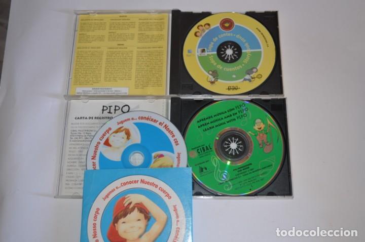 Videojuegos y Consolas: LOTE JUEGOS PC JUVENIL LES TRES BESSONES APRENDE MÚSICA CON PIPO JUGAMOS A CONOCER NUESTRO CUERPO - Foto 2 - 196361767