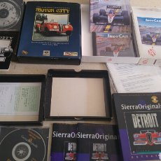 Videojuegos y Consolas: MOTOR CITY INDY CAR RACING Y SIERRA ORIGINALS DETROIT. Lote 196488636