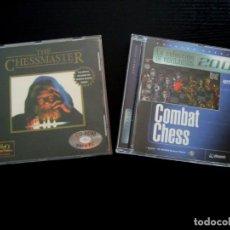 Videojuegos y Consolas: CHESSMASTER Y COMBAT CHESS PARA PC. Lote 197098548