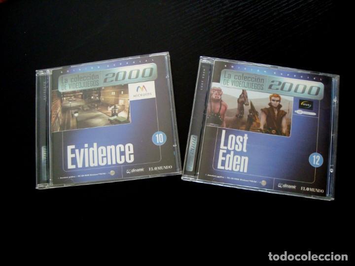 EVIDENCE Y LOST EDEN (Juguetes - Videojuegos y Consolas - PC)