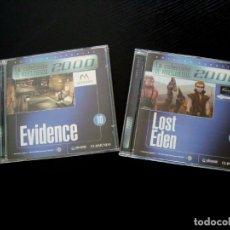 Videojuegos y Consolas: EVIDENCE Y LOST EDEN. Lote 197098623