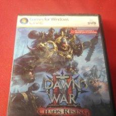 Videojuegos y Consolas: DAWN OF WAR CHAOS RISING. Lote 197160033