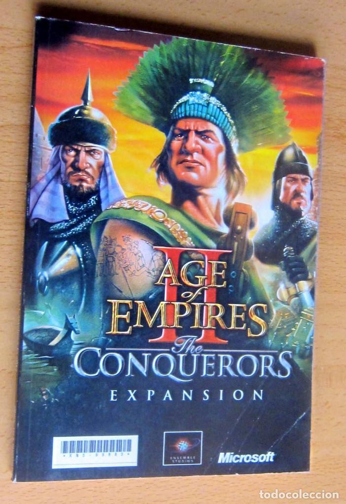 AGE OF EMPIRES, THE AGE OF KINGS Y THE CONQUERORS EXPANSION, INSTRUCCIONES (Juguetes - Videojuegos y Consolas - PC)