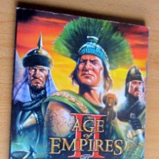 Videojuegos y Consolas: AGE OF EMPIRES, THE AGE OF KINGS Y THE CONQUERORS EXPANSION, INSTRUCCIONES. Lote 197337572