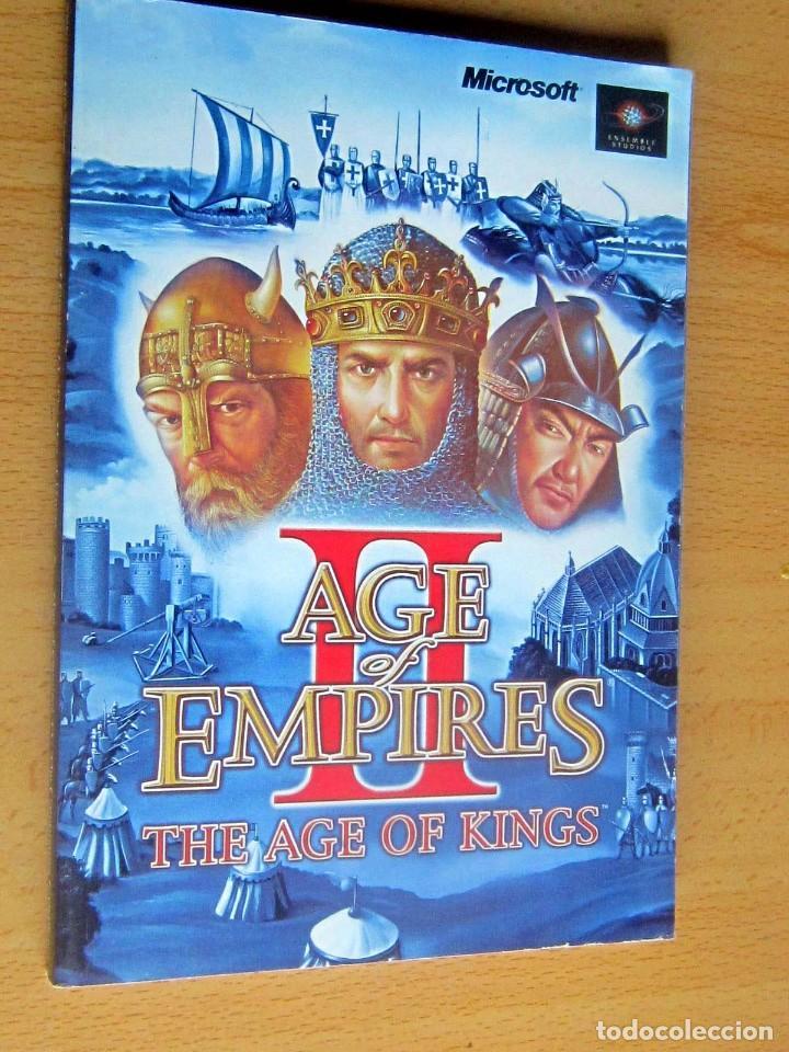 Videojuegos y Consolas: AGE OF EMPIRES, THE AGE OF KINGS Y THE CONQUERORS EXPANSION, INSTRUCCIONES - Foto 2 - 197337572