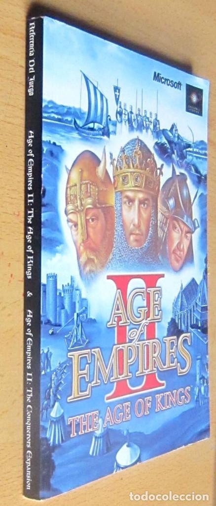 Videojuegos y Consolas: AGE OF EMPIRES, THE AGE OF KINGS Y THE CONQUERORS EXPANSION, INSTRUCCIONES - Foto 4 - 197337572