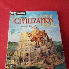 Videojuegos y Consolas: CIVILIZATION III. Lote 197412655