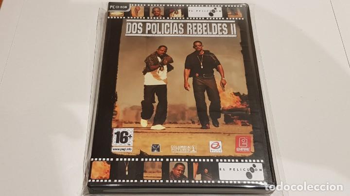 PC CD-ROM / DOS POLICÍAS REBELDES / EL PELICULON / JUEGO PC CD-ROM PRECINTADO. (Juguetes - Videojuegos y Consolas - PC)
