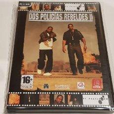 Videojuegos y Consolas: PC CD-ROM / DOS POLICÍAS REBELDES / EL PELICULON / JUEGO PC CD-ROM PRECINTADO.. Lote 158087842