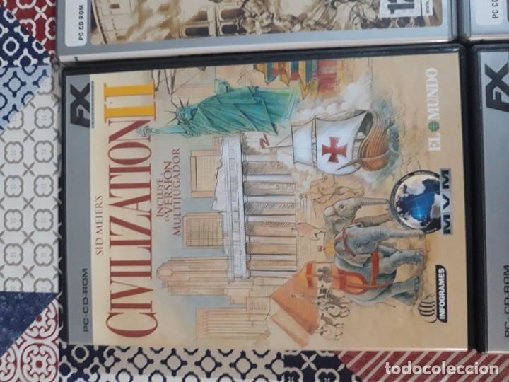 Videojuegos y Consolas: 6 juegos: Civilization II, Myst URU, Runaway, Excalibur y el rey Arturo, Patrician III, Age of Empir - Foto 2 - 197739057