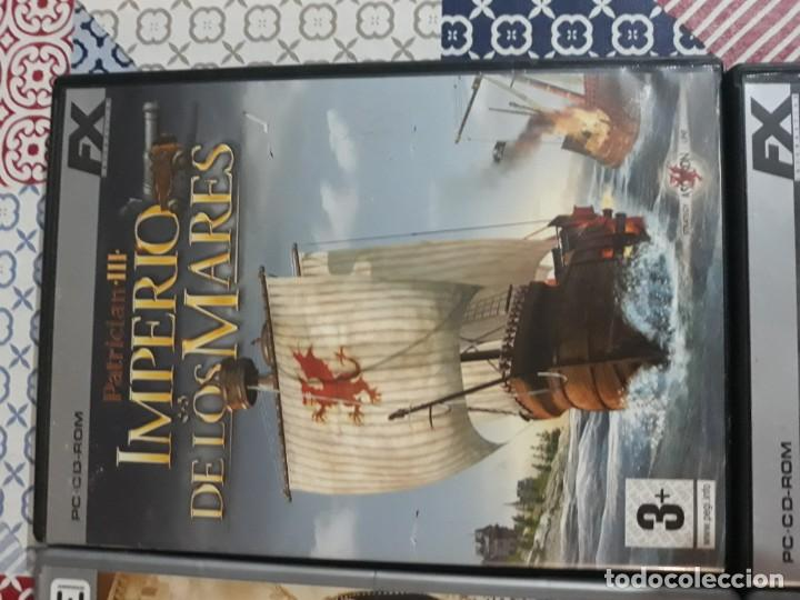 Videojuegos y Consolas: 6 juegos: Civilization II, Myst URU, Runaway, Excalibur y el rey Arturo, Patrician III, Age of Empir - Foto 4 - 197739057