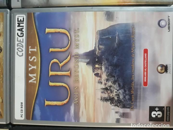 Videojuegos y Consolas: 6 juegos: Civilization II, Myst URU, Runaway, Excalibur y el rey Arturo, Patrician III, Age of Empir - Foto 6 - 197739057